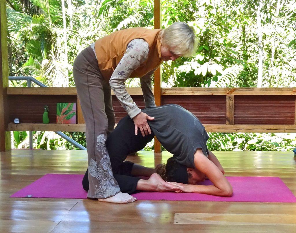 Best yoga retreat center Ecuador